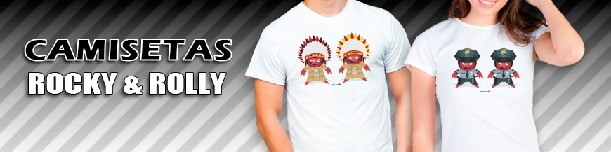 Camisetas Rocky & Rolly