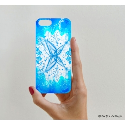 iPhone Case Butterfly Blue