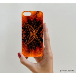 iPhone Case Butterfly Red