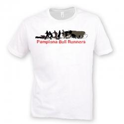 Camiseta Pamplona Bull Runners