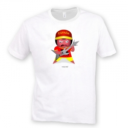 Camiseta Rocky El Españolico Rockero