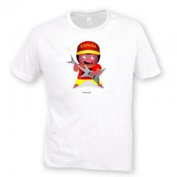 Camiseta Rolly El Españolico Rockero