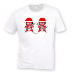 Camiseta The Bad Santas Rock
