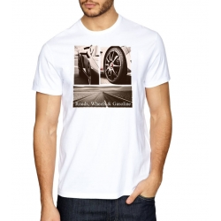 Camiseta Roads, Wheels & Gasoline