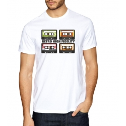 Camiseta Retro High Fidelity