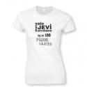 Camiseta Más Vale Jevi