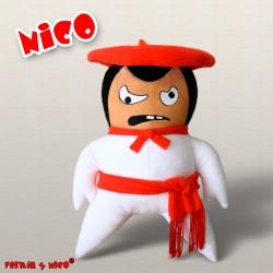 Peluche Nico