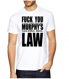 Camiseta Fuck You Murphy's Law