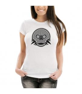 Camiseta Blanca Skull 04