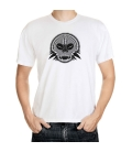 Camiseta Blanca Skull 05