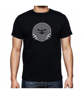 Camiseta Negra Skull 02