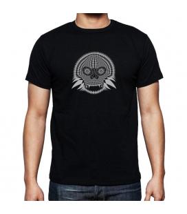 Camiseta Negra Skull 04