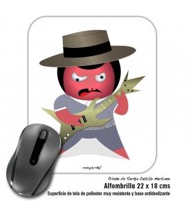 Alfombrilla Rocky El Flamenquico Rockero