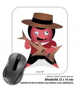 Alfombrilla Rolly El Flamenquico Rockero