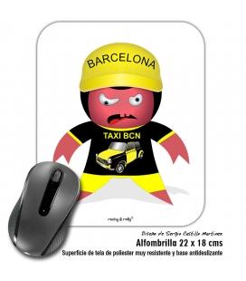 Alfombrilla Rocky Taxi Barcelona