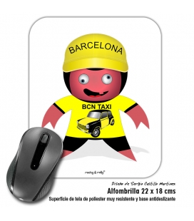 Alfombrilla Rolly Taxi Barcelona