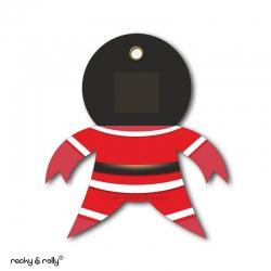 Imán Rolly The Bad Santa