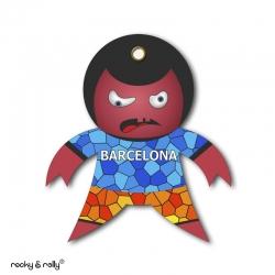 Imán Rocky Mosaico