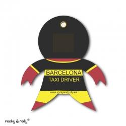 Imán Rocky Taxi Barcelona