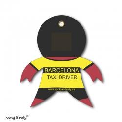 Imán Rolly Taxi Barcelona