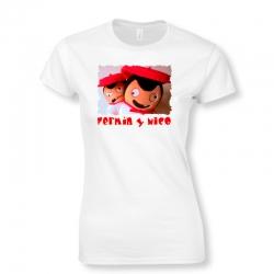 Camiseta Selfie Fermín y Nico