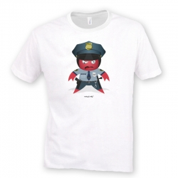 Rocky The Police T-Shirt