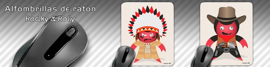 Rocky & Rolly Mouse Pad
