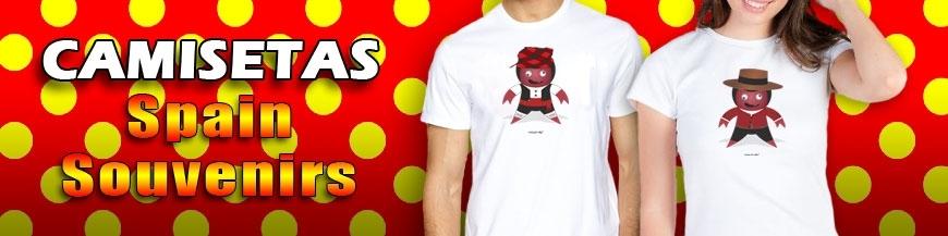 Camisetas Souvenir Rocky & Rolly